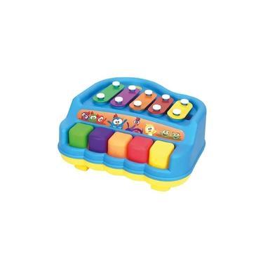 Imagem de Piano Xilofone - Galinha Pintadinha Mini - Pura Diversão - Yes Toys