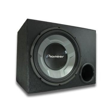 """Subwoofer Pioneer 12"""" + Caixa Mdf Dutada 4"""" Subgrave - Extreme Box"""