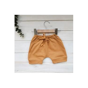 Shorts saruel mostarda