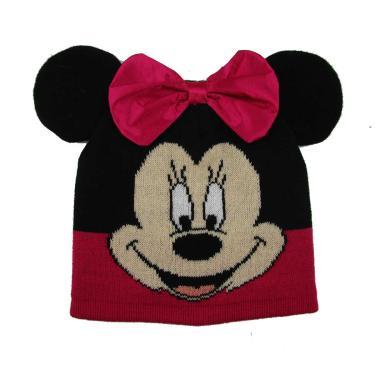 Gorro Infantil Feminino Minnie Rosa Disney