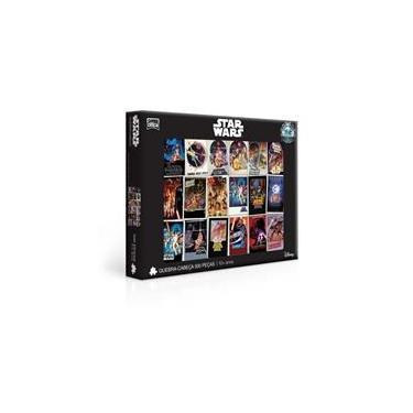 Imagem de Quebra-Cabeças Star Wars Posters 500 Peças - Toyster