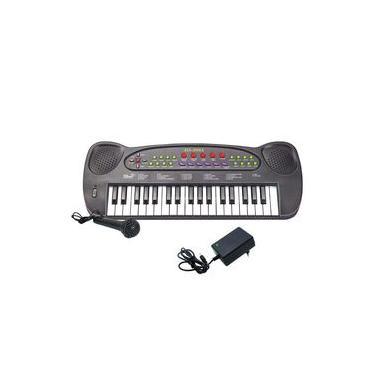 Teclado Musical Infantil HS-999 Com FONTE e Microfone