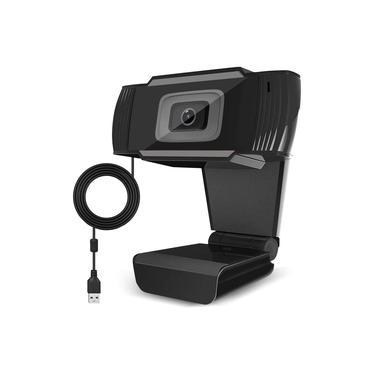 Webcam Vcom FULL HD 1080p Microfone Embutido com redução de ruído