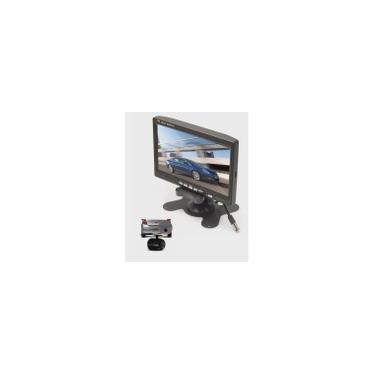 Tela Monitor lcd 7 dvd/gps/câmera