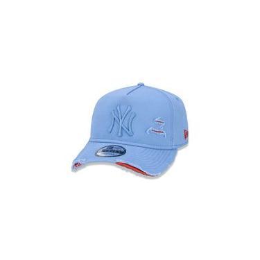 Bone 940 New York Yankees Mlb Aba Curva Azul New Era