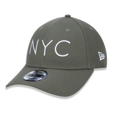 Boné Aba Curva NYC BON285 New Era - Verde Musgo ed917a789dd