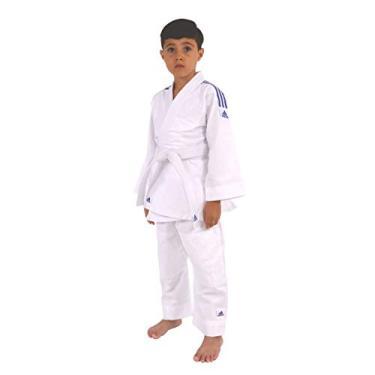 b99a0232450 Kimono Judô Adidas Infantil Reforçado Branco 120