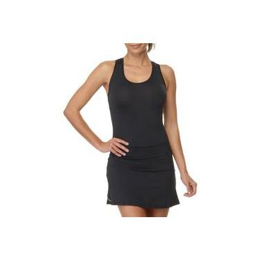 Vestido Espotivo Sawary Fitness Liso Com Shorts