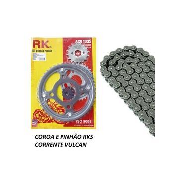 Kit Relação Cg Titan 150/fan 150 2013 Corrente Coroa pinhão