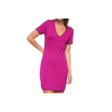 Vestido Curto Rosa Fresia Colcci 044.57.00145