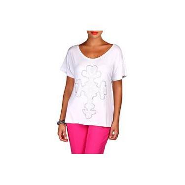 Camiseta Casual Sacada Cruz Hotfix