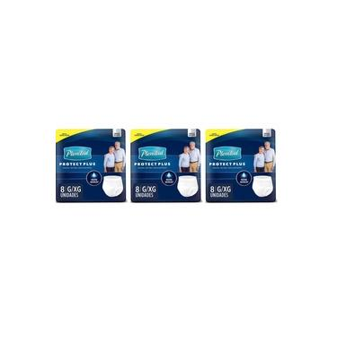 Plenitud Active Plus Fralda Geriátrica G/XG C/8 (Kit C/03)