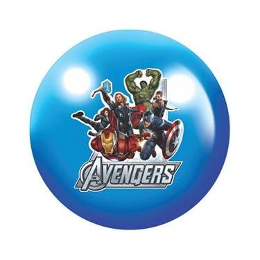 Imagem de Bola de Vinil Avengers Plástico Azul - Lider