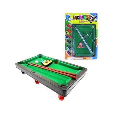 Mesa De Sinuca / Bilhar Snooker Com Acessorios 33X24cm