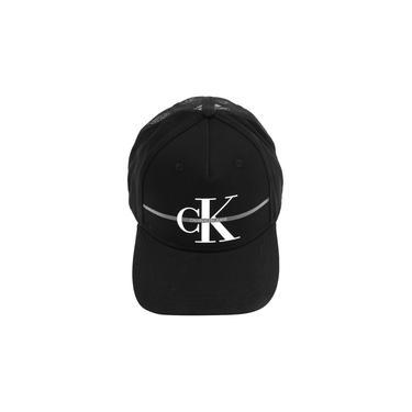 Boné Calvin Klein Jeans CK Re Issue Sash Preto