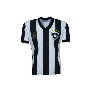 Camisa Liga Retrô Mauricio (ex jogador Botafogo) 1989