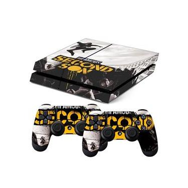 Skin PS4 Fat Infamous Second Son