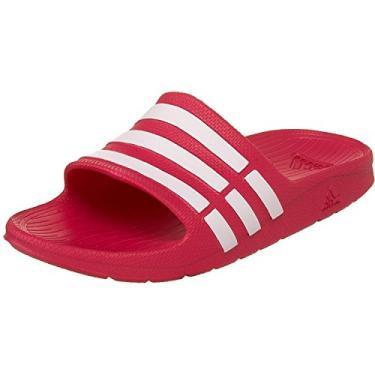 Imagem de Chinelo Adidas Duramo Slide Infantil - Rosa - 32/33
