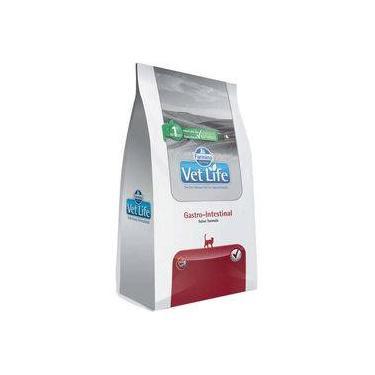 Ração Farmina Vet Life Gastro-intestinal Para Gatos Adultos Com Dificuldades Digestórias - 400 G