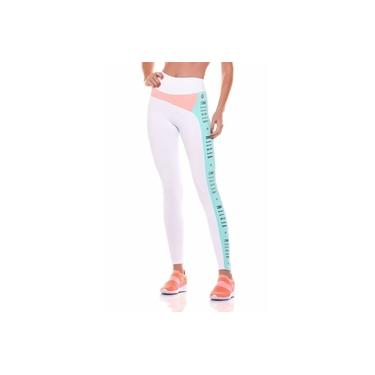 Legging Fuso Glow Branco Fs942.001 Vestem