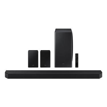 Imagem de Soundbar Samsung HW-Q950A Com 11.1.4 canais, Dolby Atmos, Acoustic Beam, Sincronia Sonora Preto