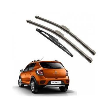 Kit Palhetas Dianteira e Traseira para Renault Sandero 2015 A Atual