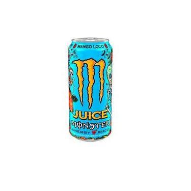Energético Monster Juice Mango Loco 473 Ml