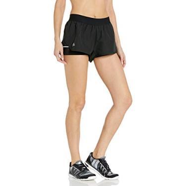 Bermuda feminina Adidas Club, Black/Matte Silver/White, Small