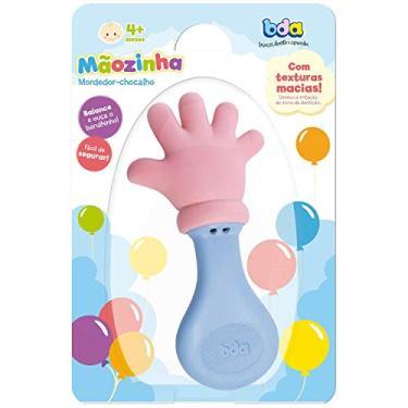 Imagem de Toyster Mordedor Infantil Maozinha com Chocalho, Multicor