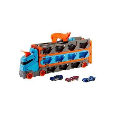 Imagem de Hot Wheels Caminhão Pista Com Carrinhos - Mattel Gvg37