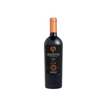 Vinho Tinto Brasileiro Perfetto Merlot 2016 Torcello