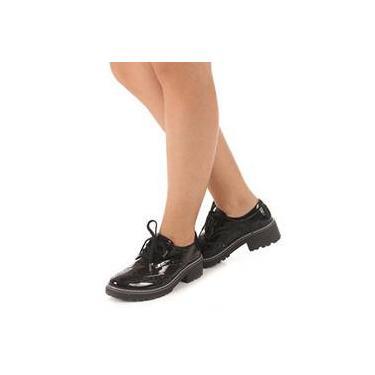 be2ff1ae77 Sapato Oxford Verniz Quiz Calçados 45 54804