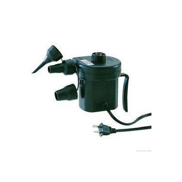 Kit Inflador Eletrico 12v Bomba Colchões Infláveis Nautika