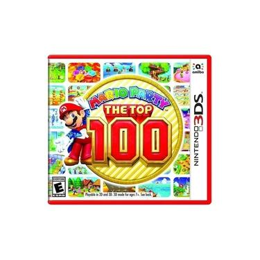 Jogo Midia Fisica Mario Party The Top 100 para Nintendo 3DS