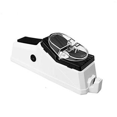 Imagem de Kaczmarek Afiador de faca elétrico USB Tungstênio diamante cerâmico vida útil mais longa Afiador de tesoura moedor