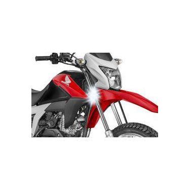 Farol Auxiliar Led 18w Moto Honda Bros Nxr 125 150 160 (par)