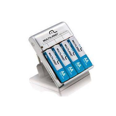 Carregador de Bateria para 4 Pilhas Ni-Mh e Ni-Cd CB054 - Multilaser