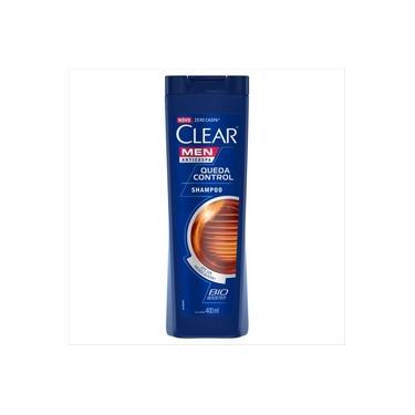 Shampoo Anticaspa Clear Men Queda Control 400 Ml