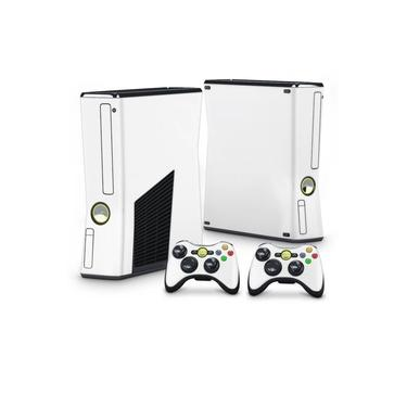 Skin Adesivo para Xbox 360 Slim - Branco