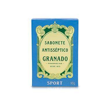 Sabonete em Barra Antisséptico Sport 90g - Granado