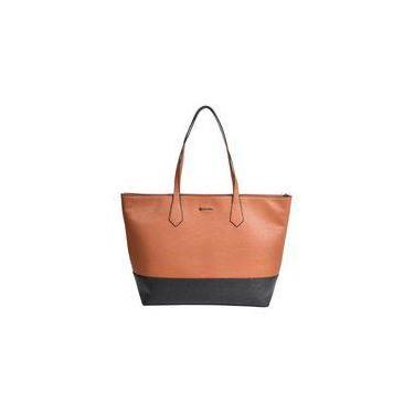 Bolsa Feminina de Mão Dumond Grande Shopper Bicolor 484966