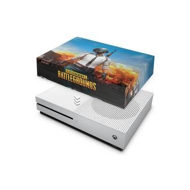 Capa Anti Poeira para Xbox One S Slim - Players Unknown Battlegrounds Pubg