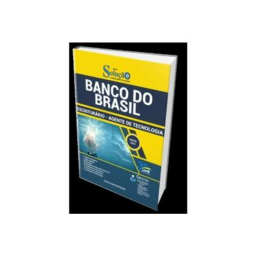 Imagem de Apostila Banco do Brasil 2021 Escriturário Agente Tecnologia