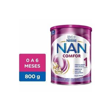 Fórmula Infantil NAN Comfor 1 Lata, 800g