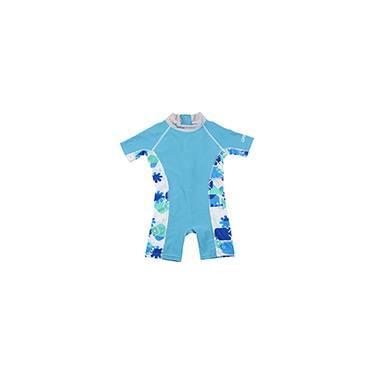 7d0a0f5ff Macacão para Natação Careful Swim Suits Azul e Azul Verde - Bestway