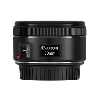 Lente Zoom Padrão Canon EF 50mm f/1.8 STM - Preta