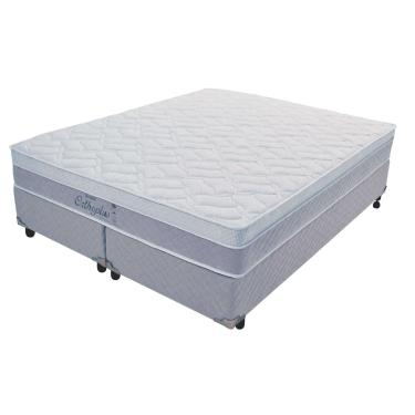 d2586e198 Cama Box+Colchão Queen Size Probel Orthoplus Soft Green 1580x1980x0580
