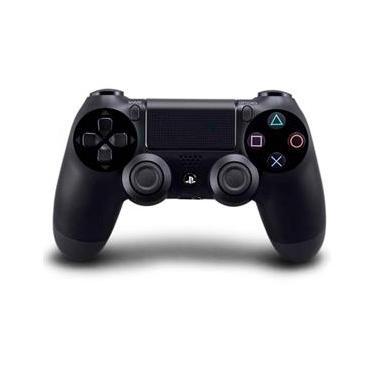 Controle Ps4 Sem Fio Dualshock 4 Preto Wireless Playstation 4 Sony