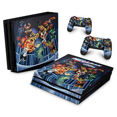 Skin Adesivo para PS4 Pro - Megaman Legacy Collection