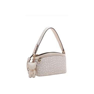 Bolsa Feminina De Poliuretano 3483341 Chenson - Off White